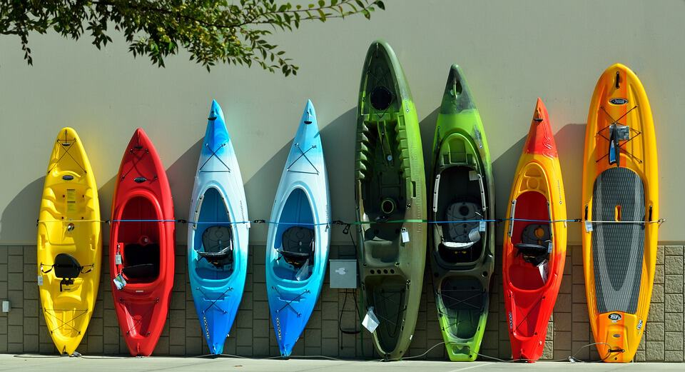 Colorful Kayaks For Sale Water Vacation Sport