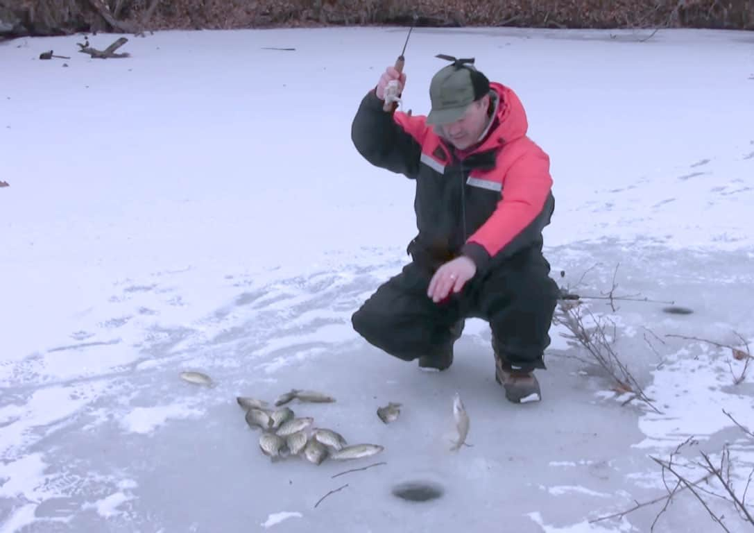 best ice fishing lures for crappie
